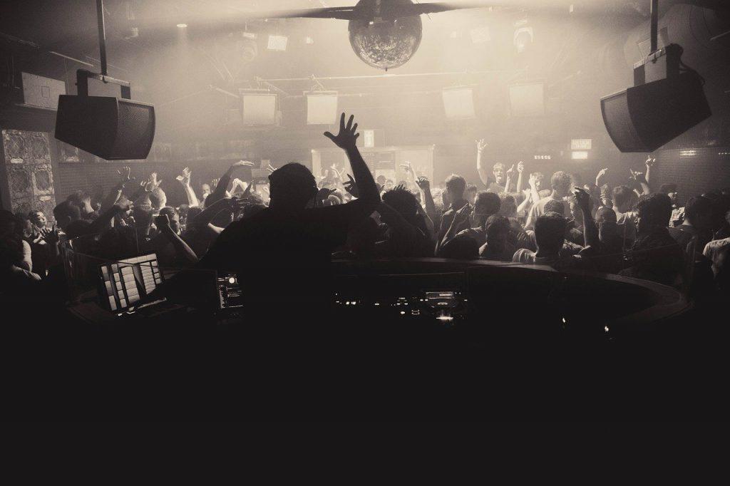 club, dj, disco